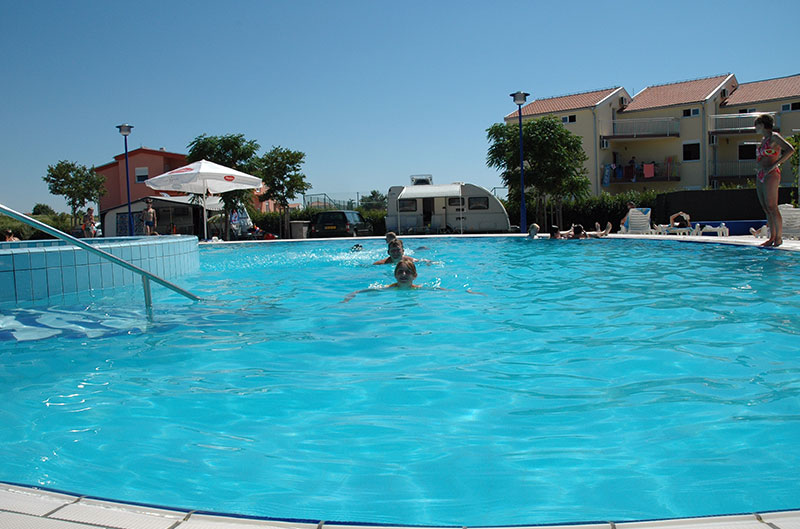 Swimming pools camping zaton croatia camping peros Campsites in poole with swimming pool