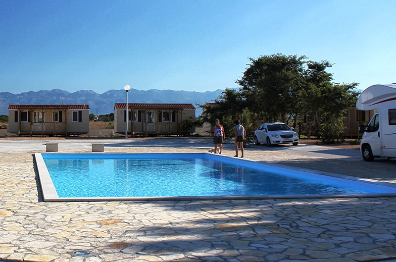 Swimming pools camping zaton croatia camping peros - Camping near me with swimming pool ...